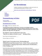 EM Strahlenfolter - Zusammenfassung Von Fakten