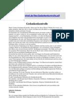 Gedankenkontrolle - liebezurwahrheit.de