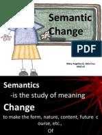 Semantic Change