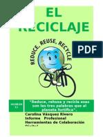 Informe sobre el reciclaje
