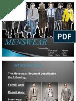 MENSWEAR Power Point Presentation