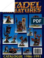 Citadel Miniatures Catalogue 1986-91