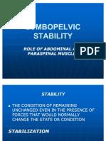 Lumbopelvic Stability Presentation