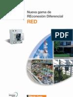 Promocional Reconectador Diferencial Red