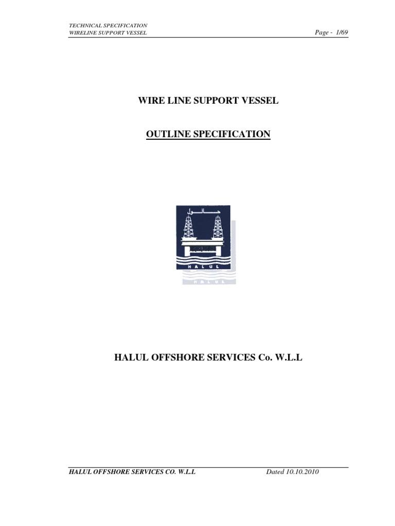 2x Wlsv Specification Rev 0 Deck Ship Pipe Fluid Conveyance Draeger Interlock Wiring Diagram