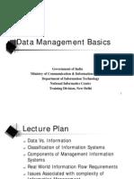 Data Management Basics