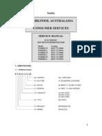Heladera Whirlpool ARB420 Manual Servicel