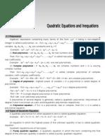 02 Quadratic Equation (e) Theory