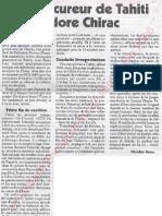 Le Canard enchainé - 2006.09.27 - Le procureur de Tahiti adore Chirac