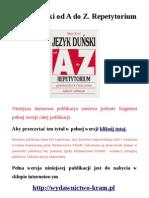 Język duński od A do Z. Repetytorium - gramatyka, ćwiczenia, tablice odmian