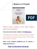 Rozmówki - pomoc domowa we Francji