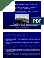 Cenni Di Storia Dell'Architettura