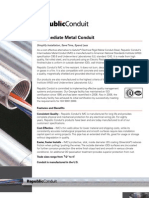 IMC Electrical Steel Conduit