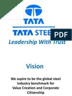 TATA STEEL - Leadership With Trust