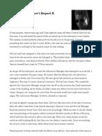 Wesker Report II