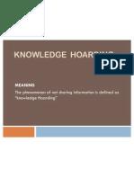 Knowledge Hoardinnxt