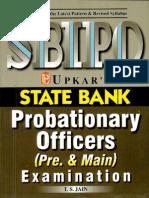 Upkar's Sbi Po (Pre and Main Exam by t.s Jain)(2)