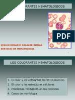 1.2 Colorantes hematológicos (Tema 1)