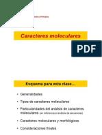 CaracteresMoleculares2007