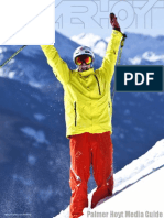 Pro Skier Palmer Hoyt - Media Guide