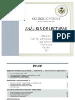 RECOPILACIÓN DE ANÁLISIS