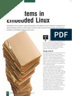 File System Embedded Linux