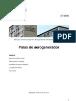 Palas de Aerogenerador Version 28