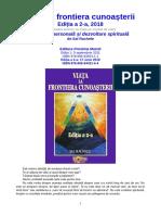 Viata la frontiera cunoasterii, Editia a 2-a, 2018, de Sal Rachele (Editura Proxima Mundi)