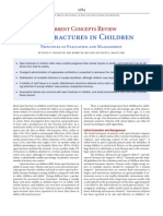 Open Fractures in Children