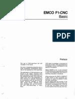 EMCO F1 Manual