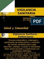vigilancia sanitari