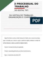 A 1 ORGANIZA+çAO E COMPETE DA JCA DO TRABALHO