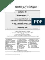 Robotics - Sensors and Methods for Autonomous Mobile Robot P