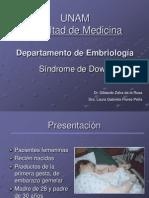 Sindrome de Down. Caso Clinico
