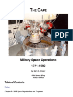TheCape Military Space Ops 1971-1992