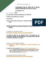 Francisco Azuero SALUD Blog