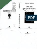 Milton Santos, Por una Geografía Nueva (completo)