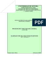 Manual de Prácticas-Botánica