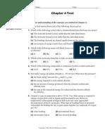 Chapter 4 Practice Test 4u1