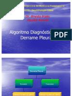 algoritmo derrame pleural