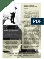 Fanzine N° Cero de Practica y Politica Institucional (Espalda)