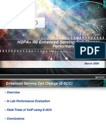 Hspa r8 Enhanced Serving Cell Change Performance Evaluation