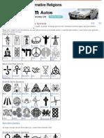 A Visual Glossary of Religious Symbols