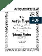 Brahms Deutsche Requiem
