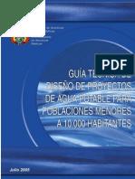 GuiaTecDisProyAguaPotable