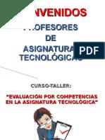 EVALUACIÓN POR COMPETENCIAS EN LA SIGNATURA TECNOLÓGICA
