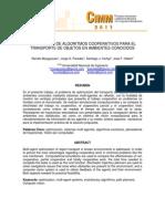 Desarrollo de Algoritmos Cooperativos Para El Transporte de Objetos en Ambientes Conocidos