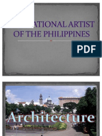 The National Artist of the Philippines