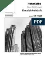 Panasonic Kx Ta624
