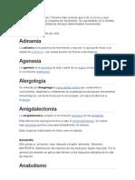 Acinesia